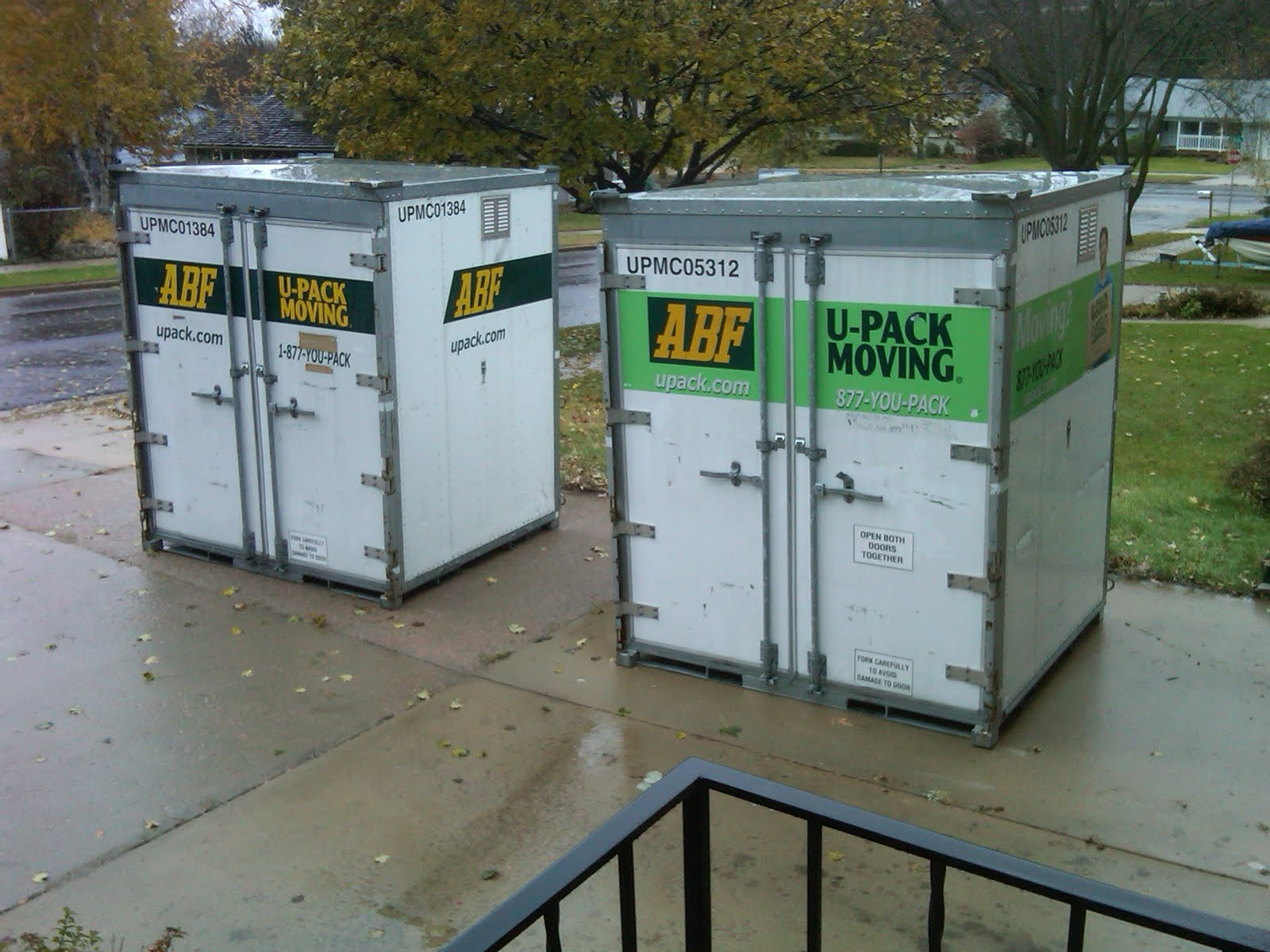 Chris's Blog: The ABF U-Pack ReloCubes Arrived.